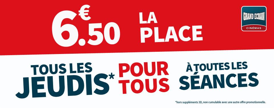 JEUDI 6.50€