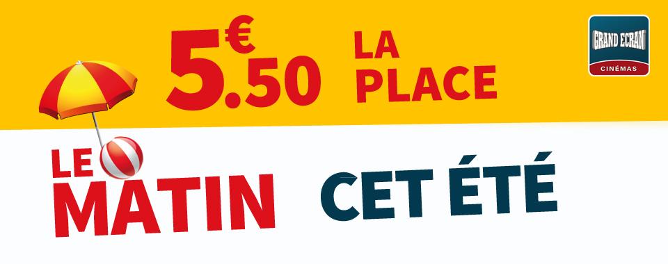 5.50€ MATIN